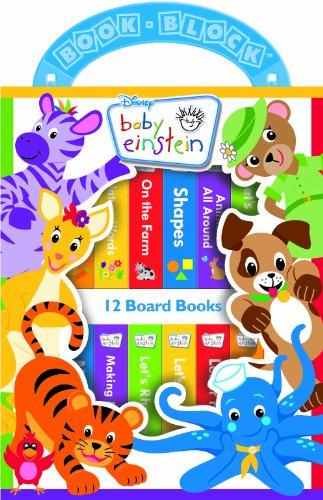 Disney Baby Einstein 12 Book Library