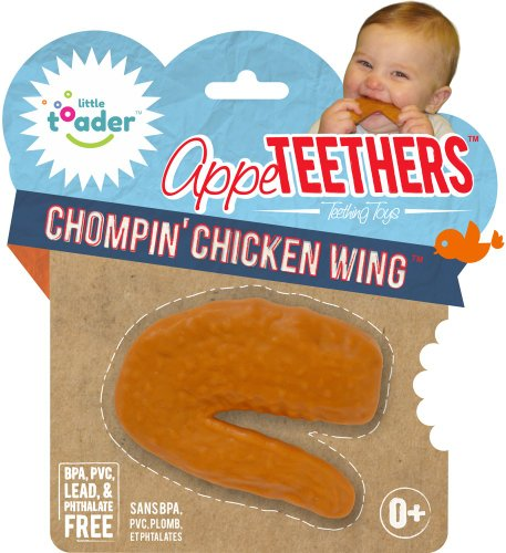Teething Toys - BPA Free - Chicken Wing Appe-teethers