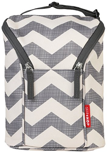 Skip Hop Baby Grab and Go Insulated Double Bottle Storage Bag