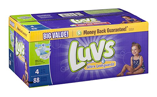 Luvs Diapers Ultra Leakguards With Night Lock