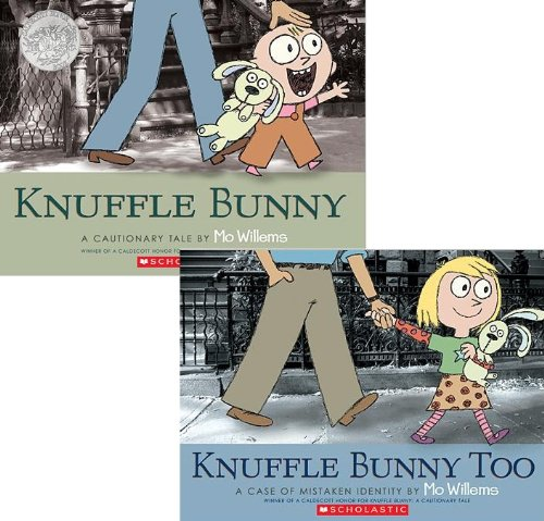Knuffle Bunny: A Cautionary Tale; Knuffle Bunny Too: A Case of Mistaken Identity