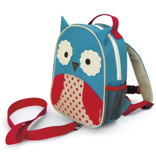 Skip Hop Zoo Back Pack and Safety Harness- Owl