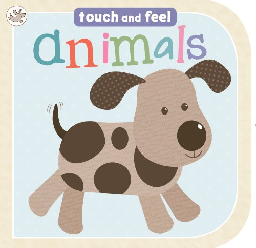 Animals Touch and Feel Board Book