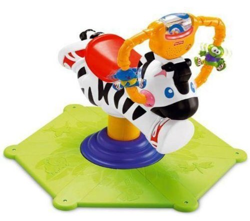 Fisher-Price Go Baby Go Bounce & Spin