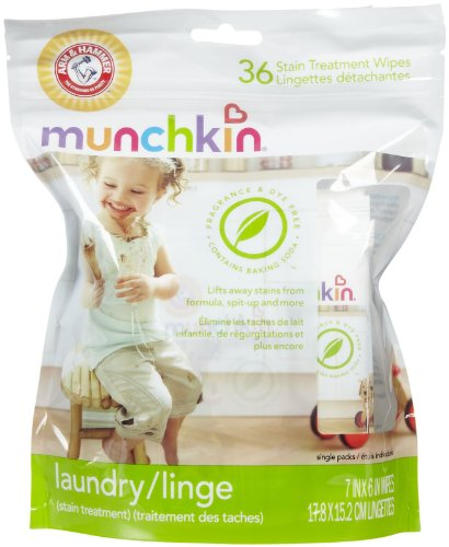 Munchkin Arm & Hammer Stain Treatment Wipes