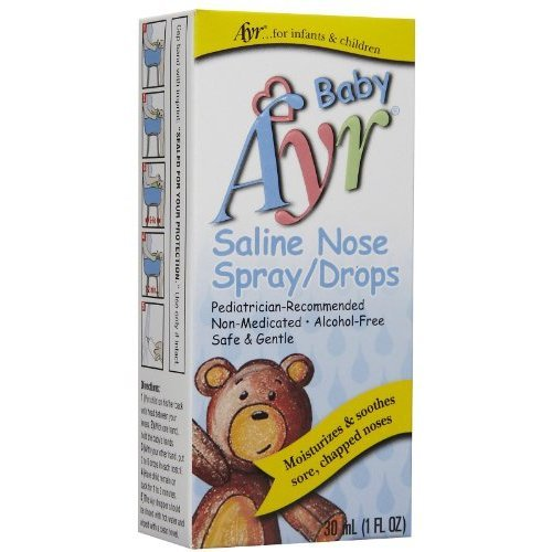 Ayr Baby's Saline Nose Spray Drops