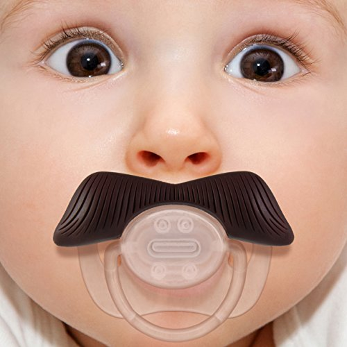 Mustachifier - The Ladies Man Mustache Pacifier