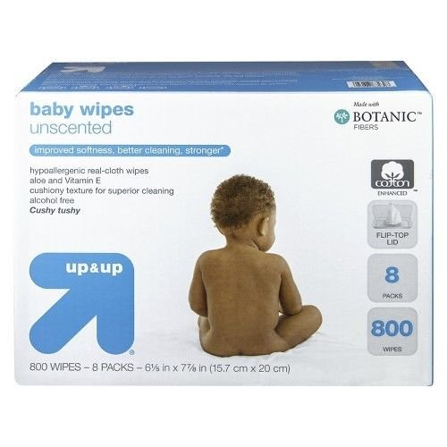Up and Up Unscented Baby Wipes Refill Pack