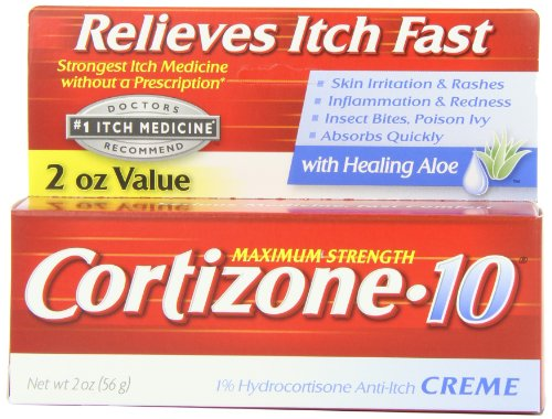Maximum Strength Cortisone