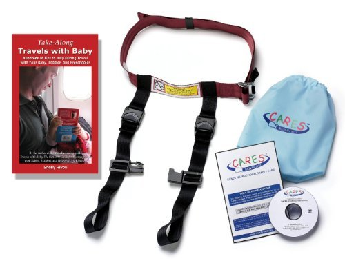 CARES Bundle: CARES flight harness and Take-Along Travels with Baby