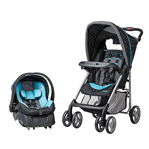 Evenflo JourneyLite Travel System with Embrace Infant Car Seat