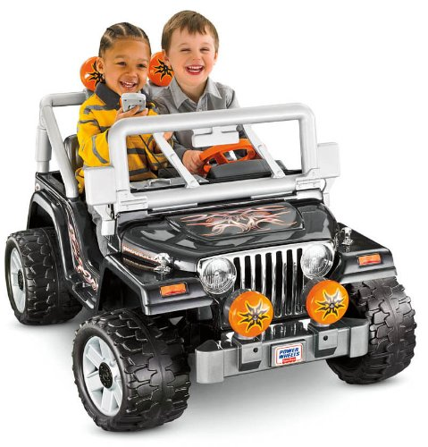 Power Wheels Tough Talking Jeep Wrangler Reviews Best Baby Toys On