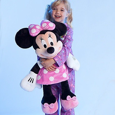 Disney Store Minnie Mouse Plush Toy
