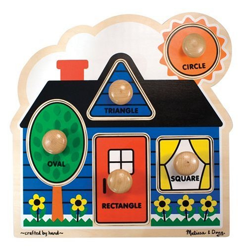 Melissa & Doug First Shapes Jumbo Puzzle