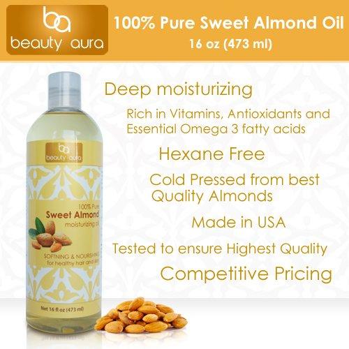 Beauty Aura Sweet Almond Oil