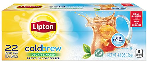 Lipton Decaffeinated Cold Brew Tea Bags