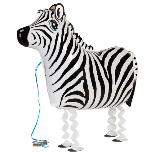 My Own Pet Balloons Zebra Jungle Animal