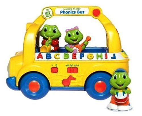 LeapFrog Learning Friends Phonics Bus