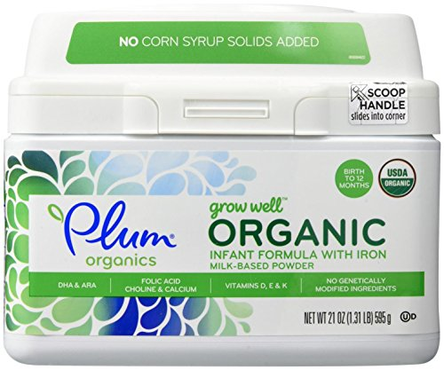 Plum Organics Grow Well Organic Infant Formula