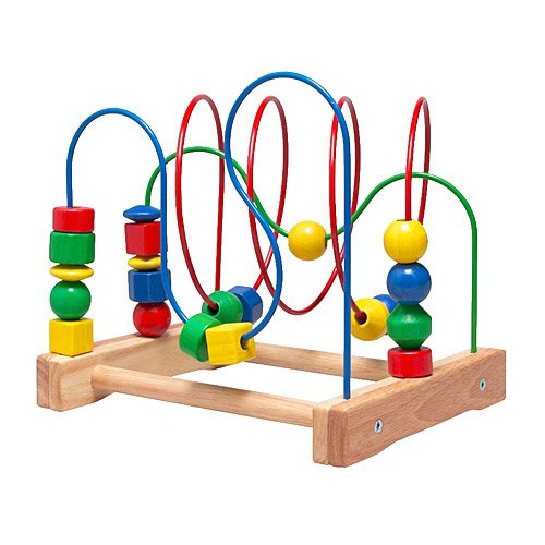 Ikea Wooden Bead Roller Coaster