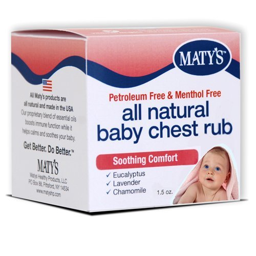 Matys All Natural Baby Chest Rub