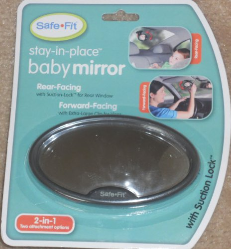 SafeFit stay-in-place baby mirror
