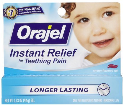 Baby Orajel Teething Pain Medicine- Regular