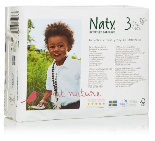 Naty Chlorine-Free ECO Diapers