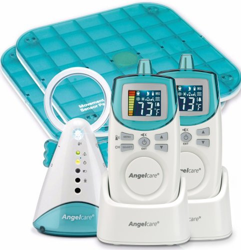 Angelcare Baby Movement and Sound Monitor Deluxe
