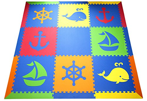 SoftTiles Interlocking Foam Playmat