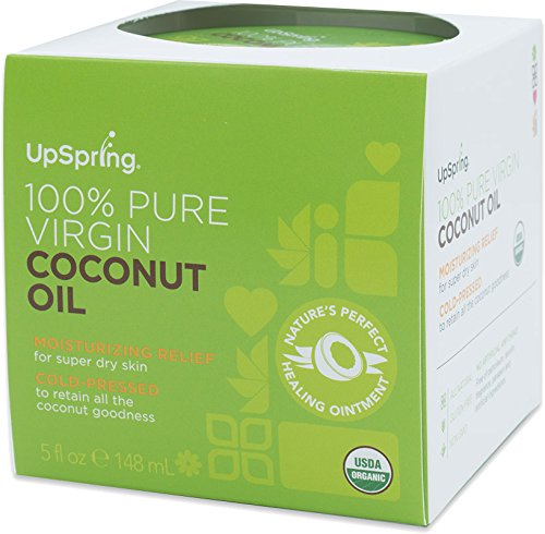 UpSpring 100% Pure Virgin Coconut Oil