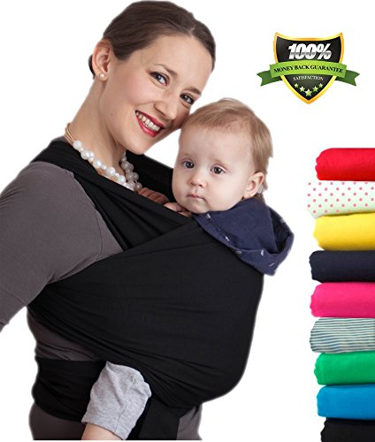 4-in-1 CuddleBug Baby Wrap Carrier