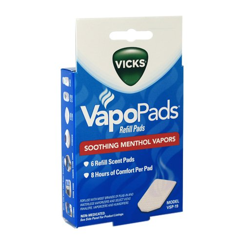 Vicks Waterless Vaporizer Scent Pads