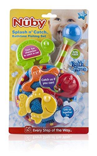 Nuby Splash 'n Catch Bath Time Fishing Set