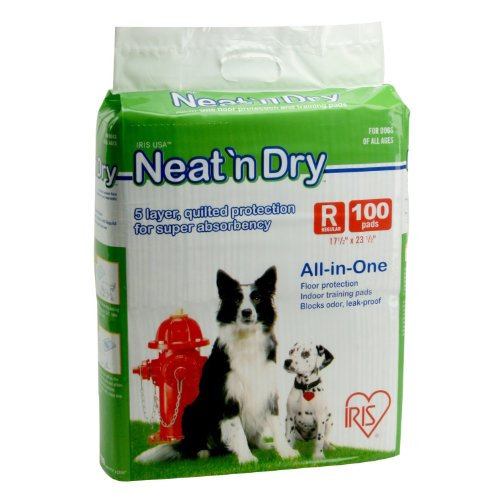 IRIS Neat 'n Dry Premium Floor Protection Pet Training Pads