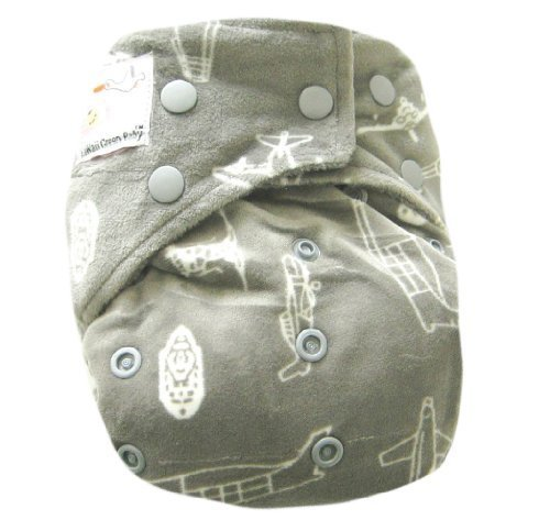 Kawaii Baby Bamboo Charcoal One Size Cloth Diaper