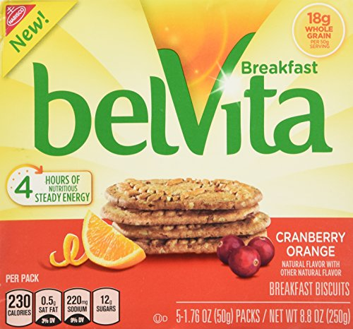 belVita Breakfast Biscuits, Cranberry Orange, 8.8 Ounce