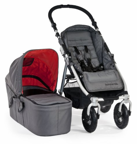 Bumbleride Indie 4 Urban All Terrain Stroller with Bassinet