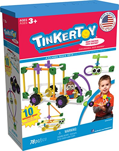 Tinker Toy Vehicles Building Set