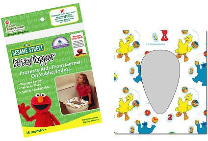 Sesame Street Disposable Toilet Seat Covers