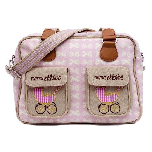 Pink Lining Mama Et Bebe Diaper Bag