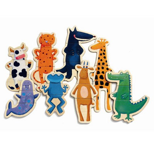 Djeco Wooden Magnet Play Set