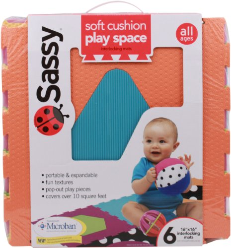 Sassy Soft Cushion Play Space Interlocking Mats