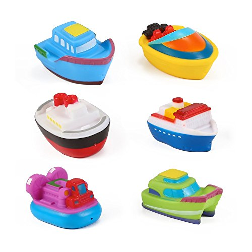Bathing Fun Floating Boat Party Bath Squirties
