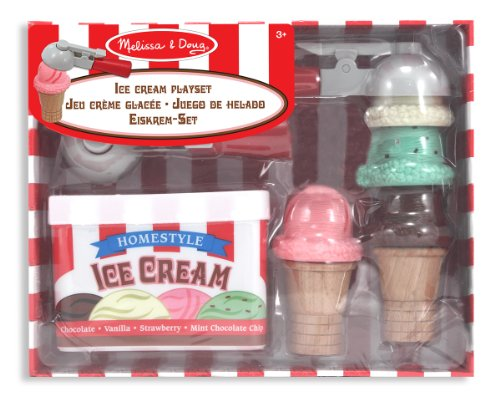 Melissa & Doug Ice Cream Scoop Set