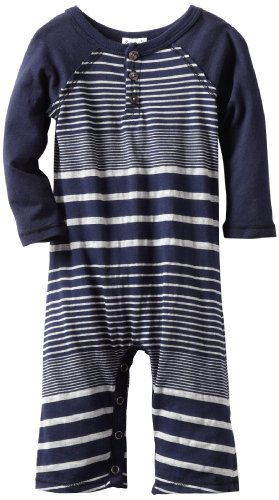 Splendid Littles Baby-boys Newborn Border Stripe Jersey Romper