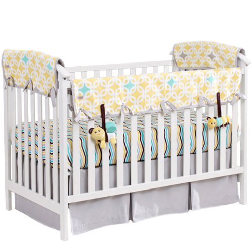 Babee Talk Eco-Teether Crib Bedding Set