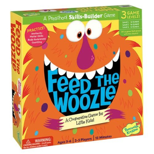 Feed the Woozle Preschool Skills Builder Game