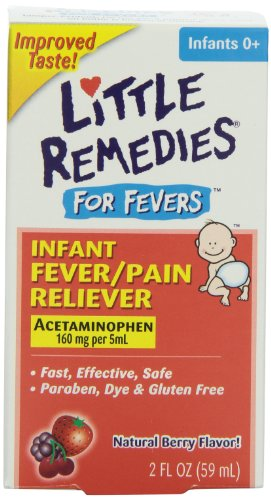 Little Remedies Fever Pain Reliever