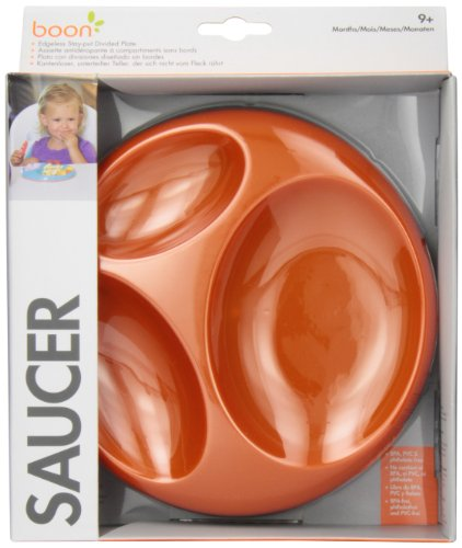 Boon Saucer Edgelesss Stayput Divider Plate